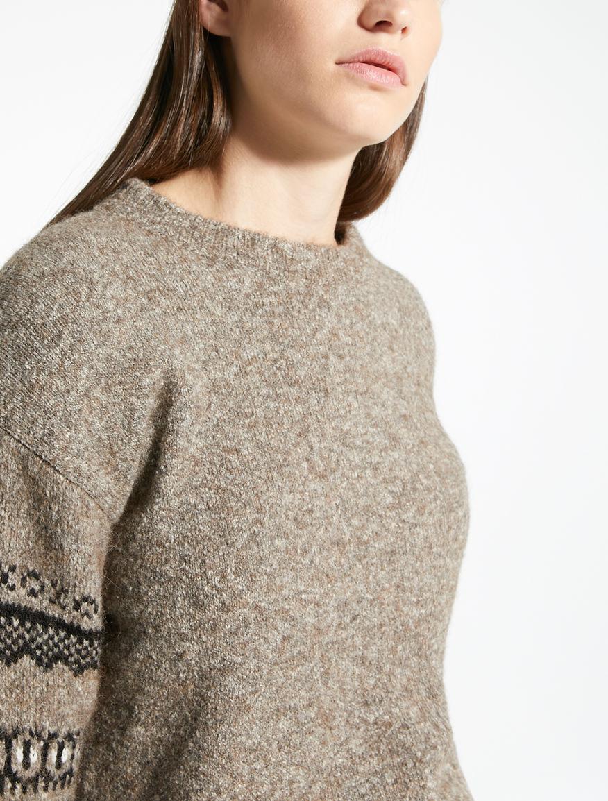 Alpaca and wool yarn jumper Weekend Maxmara