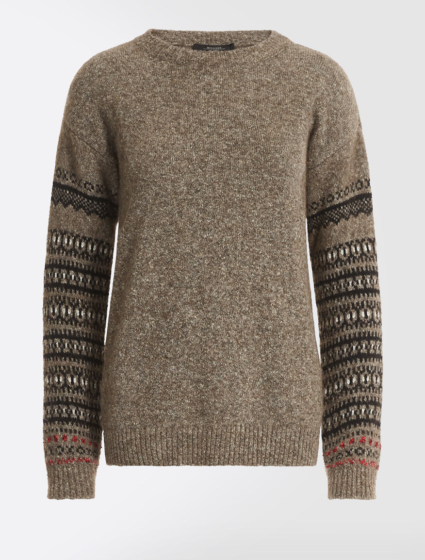 Alpaca and wool yarn jumper Weekend Maxmara
