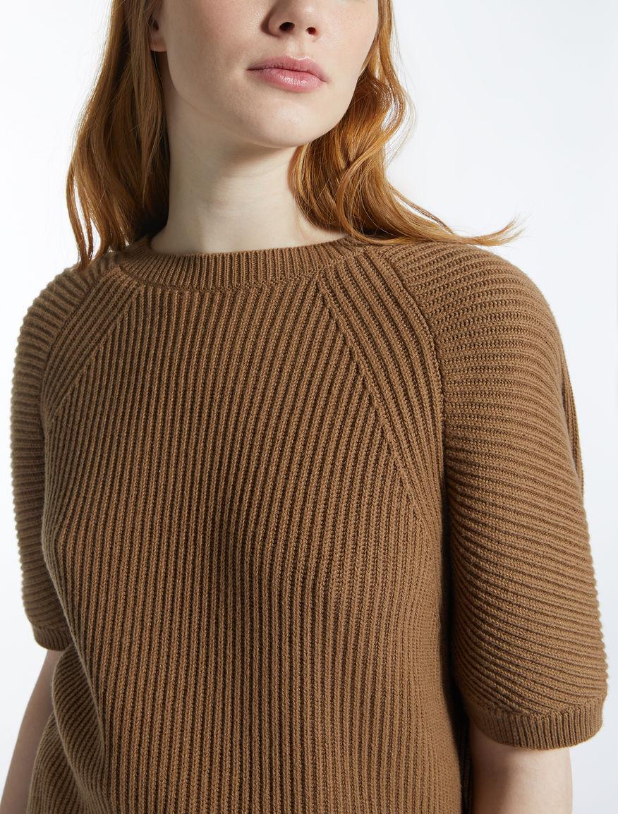 Cotton and wool jumper Weekend Maxmara