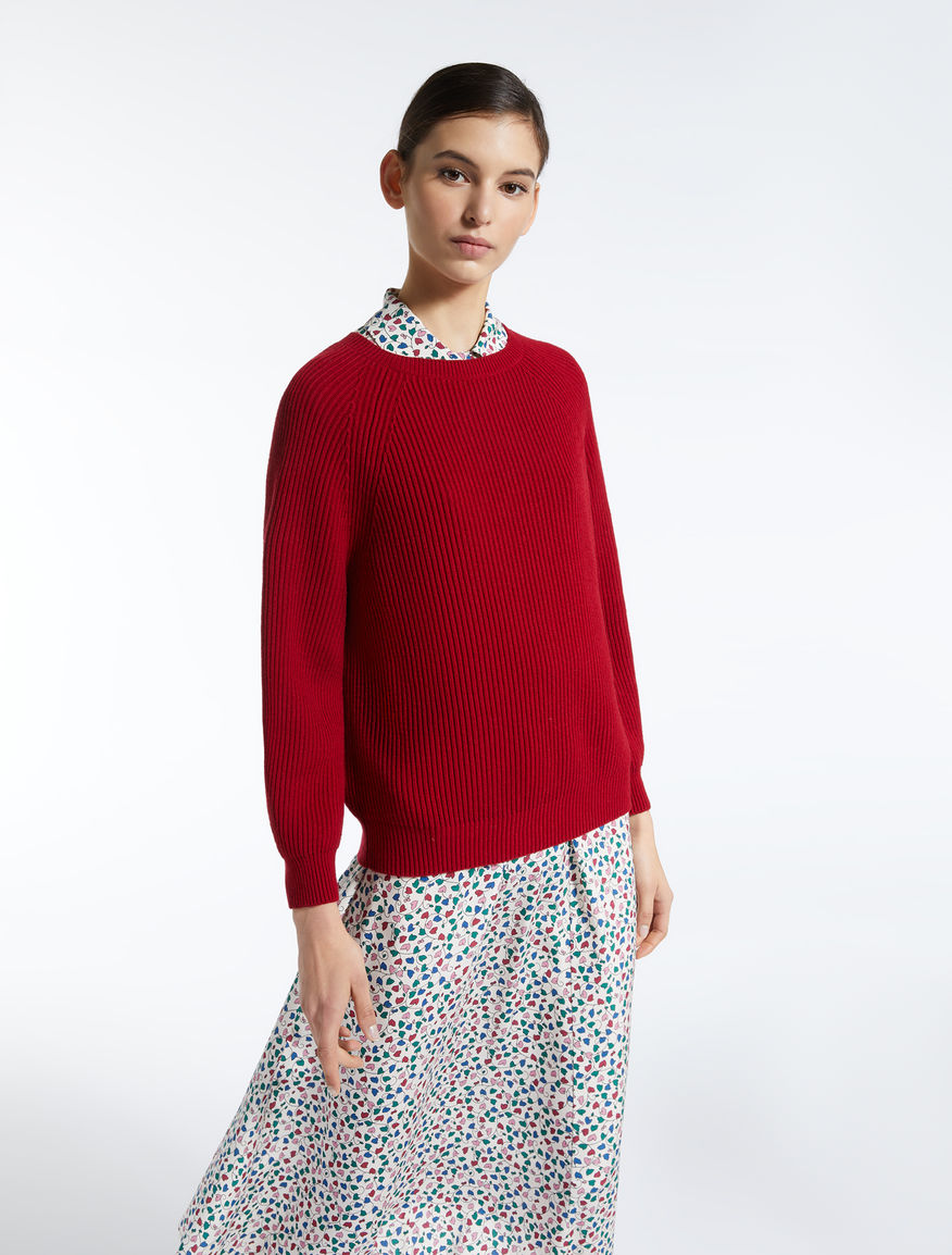 Cotton and wool jumper Weekend Maxmara