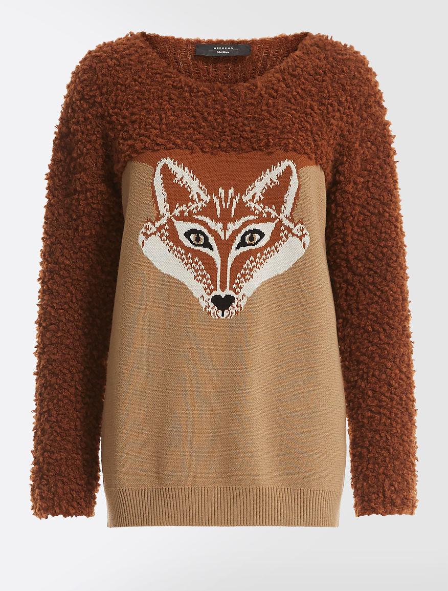 Maglia in filato di lana jacquard Weekend Maxmara