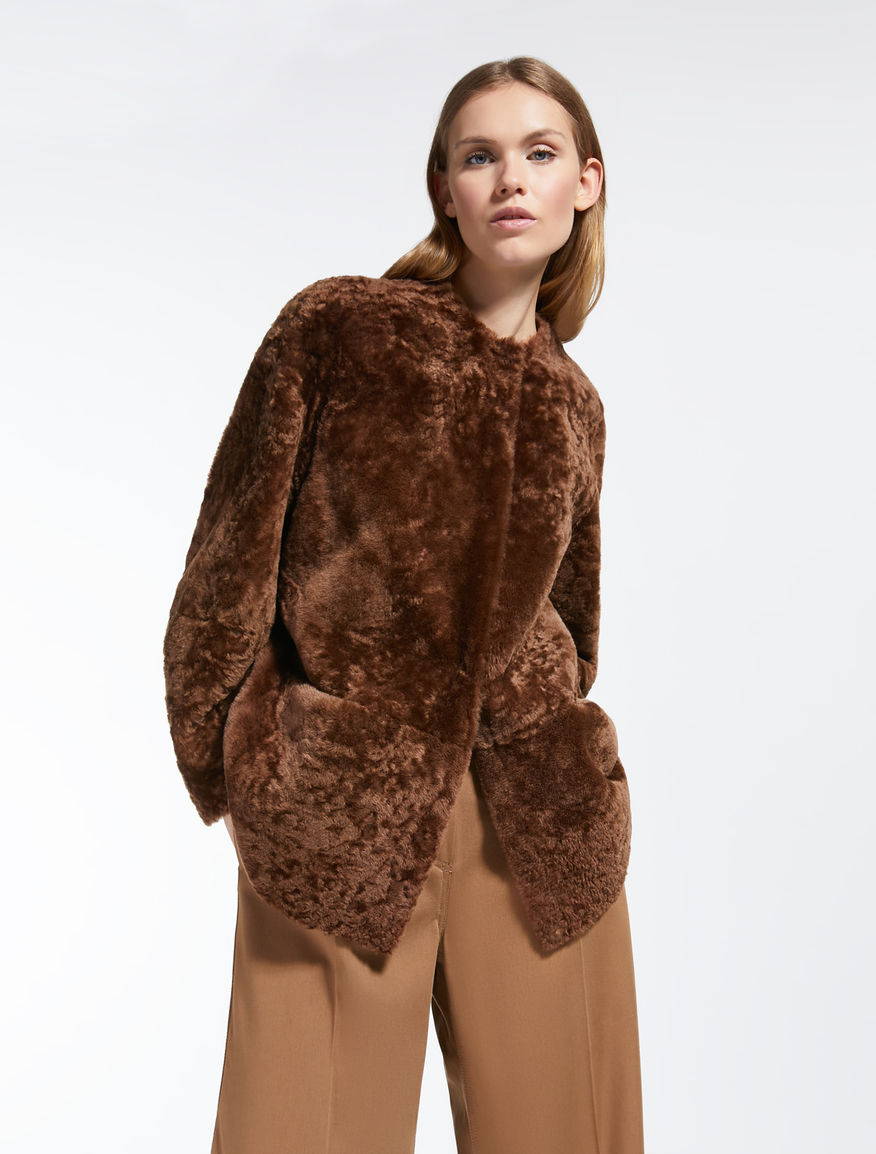 Sheepskin coat Weekend Maxmara
