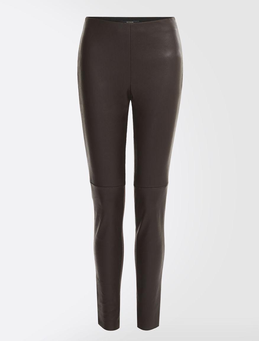 Pantaloni in nappa stretch Weekend Maxmara