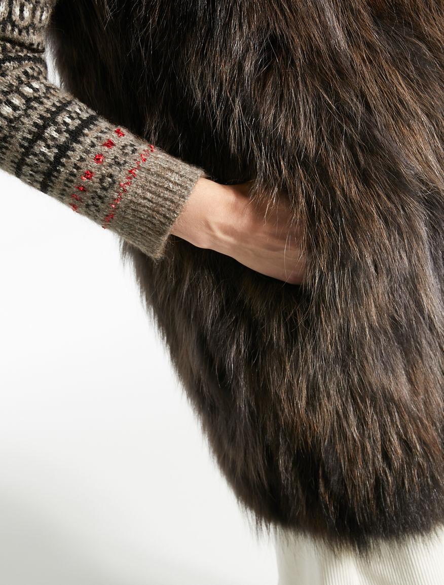 Fur waistcoat Weekend Maxmara