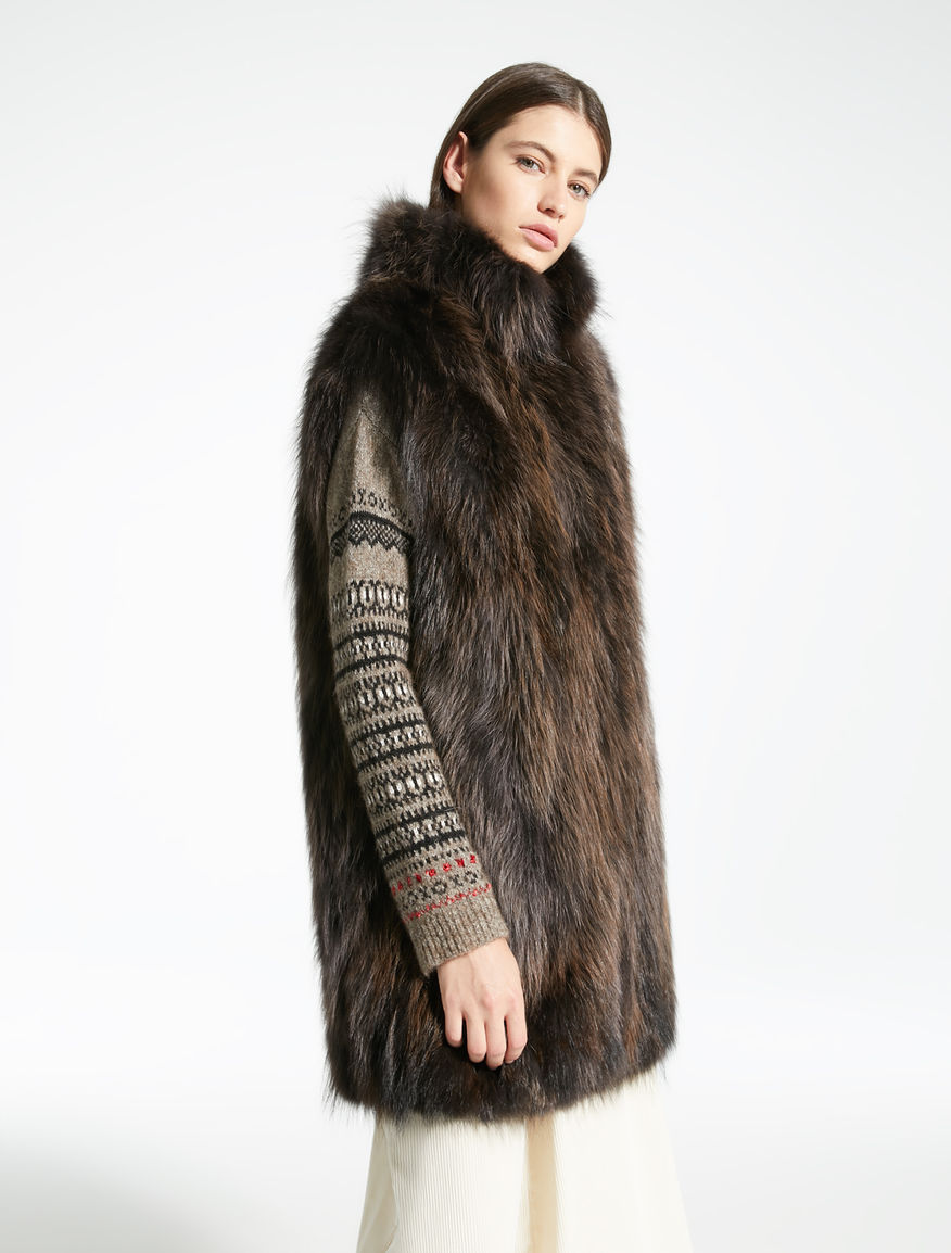 Gilet in pelliccia Weekend Maxmara