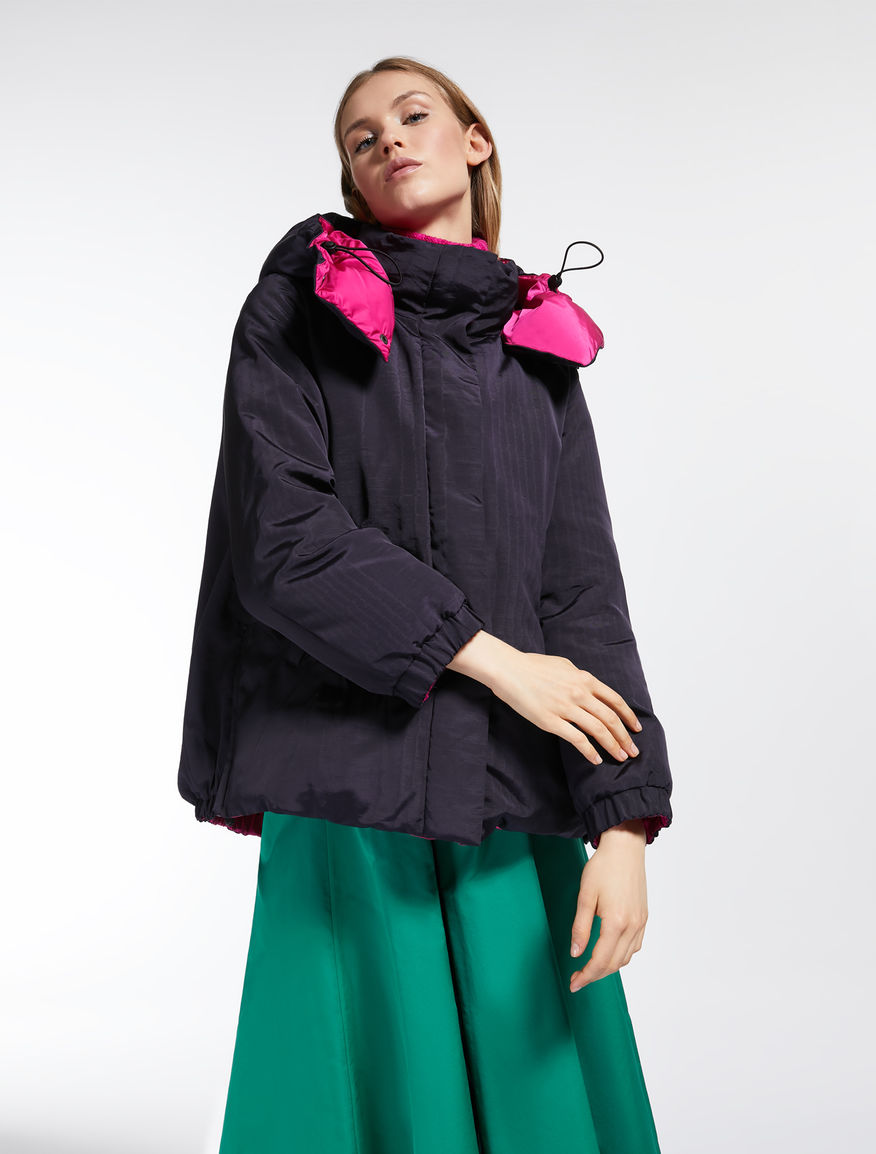Reversible viscose down jacket Weekend Maxmara