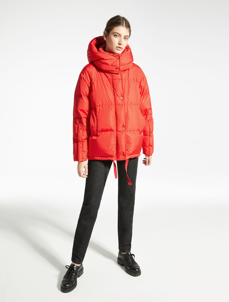 Water-repellent nylon taffeta down coat Weekend Maxmara