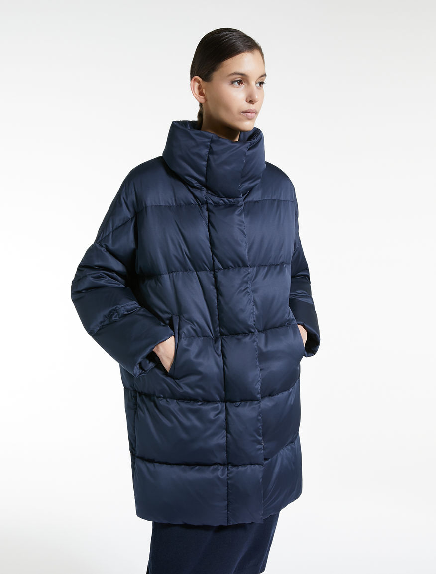 Water-repellent satin down jacket Weekend Maxmara