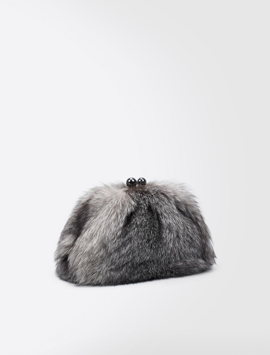 Fox fur Medium Pasticcino Bag Weekend Maxmara