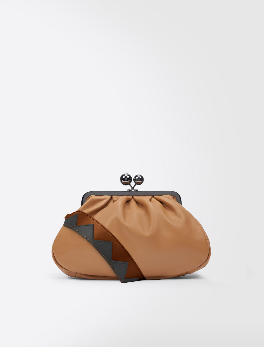 Nappa leather Medium Pasticcino Bag Weekend Maxmara