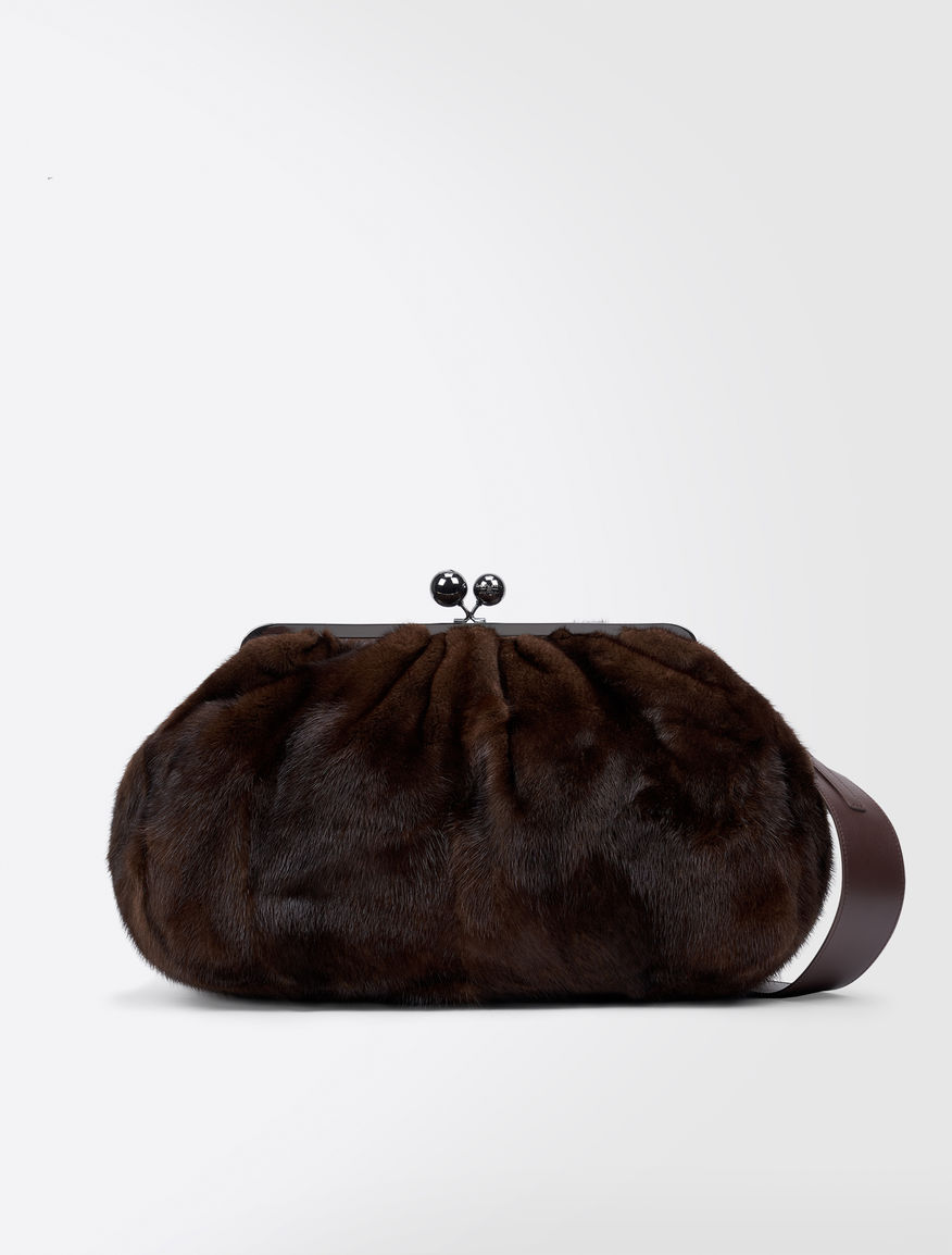 Pasticcino Bag Maxi in visone Weekend Maxmara