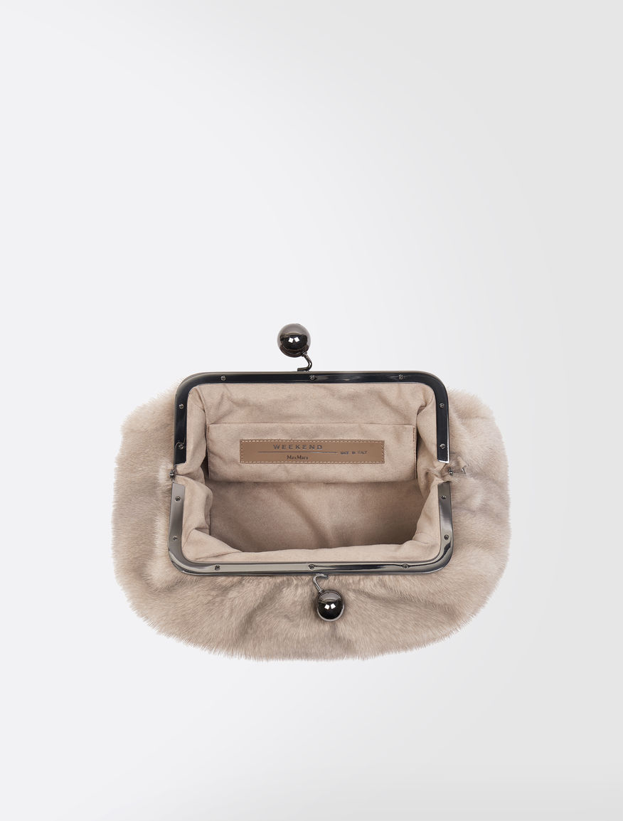 Pasticcino Bag Medium in visone Weekend Maxmara