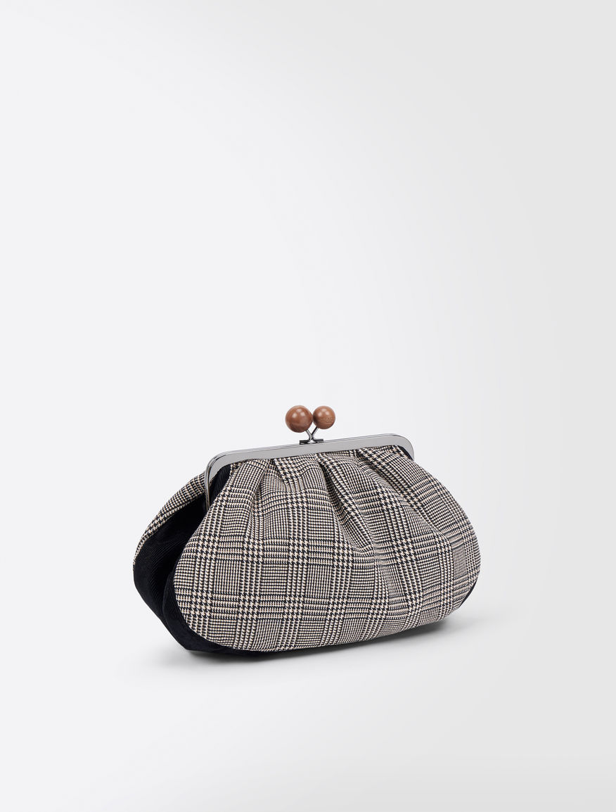 Prince of Wales check Medium Pasticcino Bag Weekend Maxmara