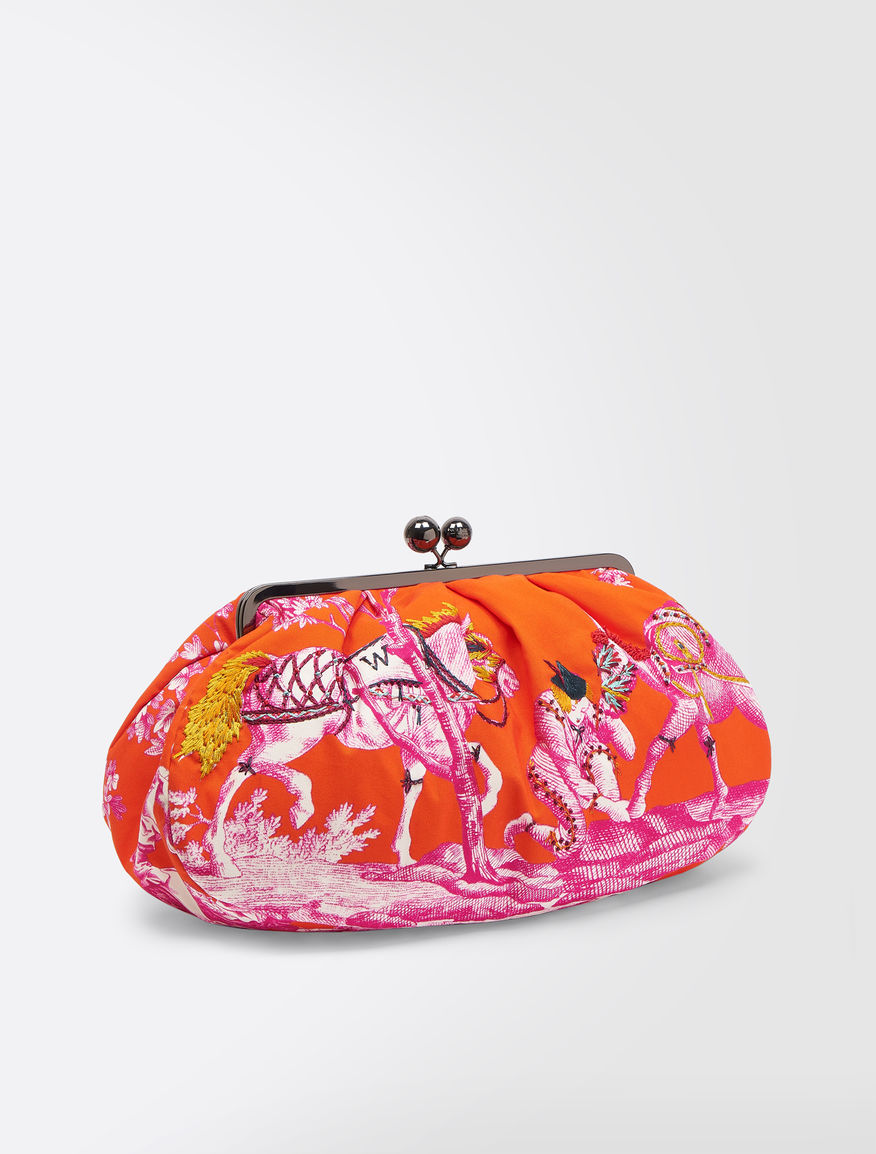 Maxi Pasticcino Bag in printed canvas Weekend Maxmara