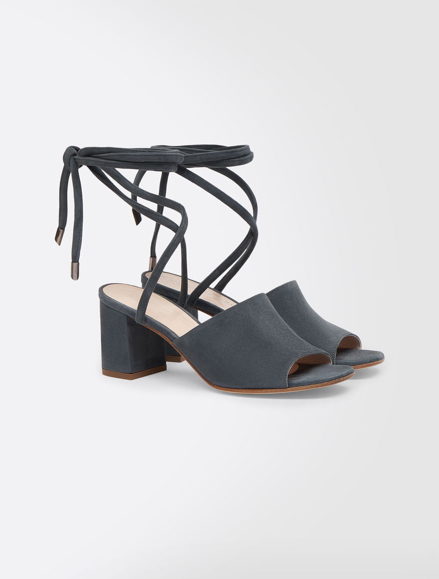 Mule in pelle scamosciata Weekend Maxmara