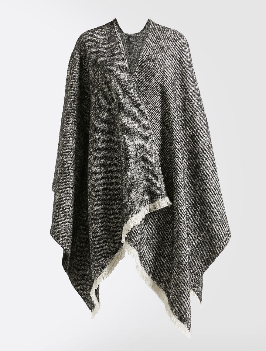 Wool, alpaca and mohair cape Weekend Maxmara