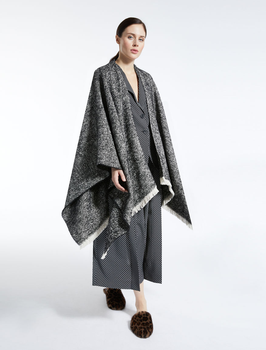 Wool, alpaca and mohair cape Weekend Maxmara