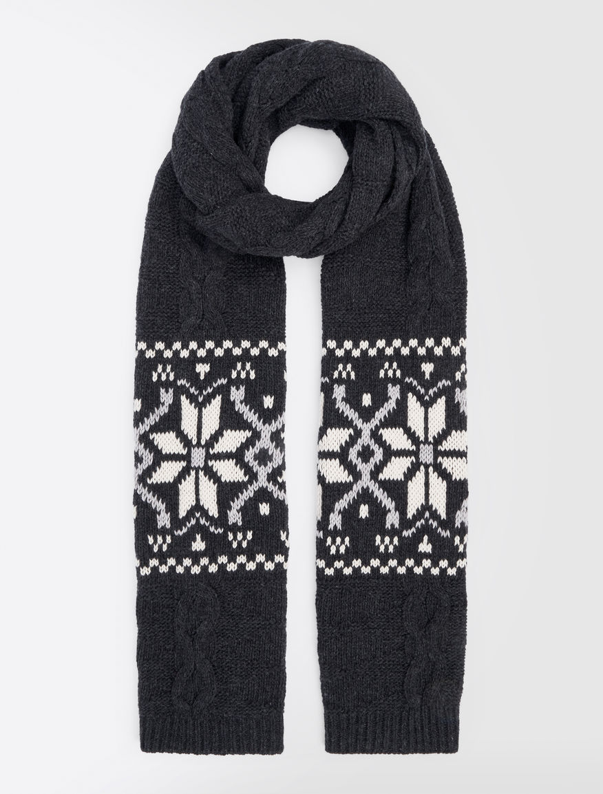 Jacquard wool scarf Weekend Maxmara