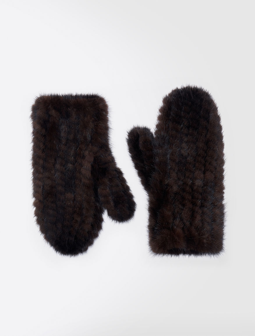 Mink mittens Weekend Maxmara