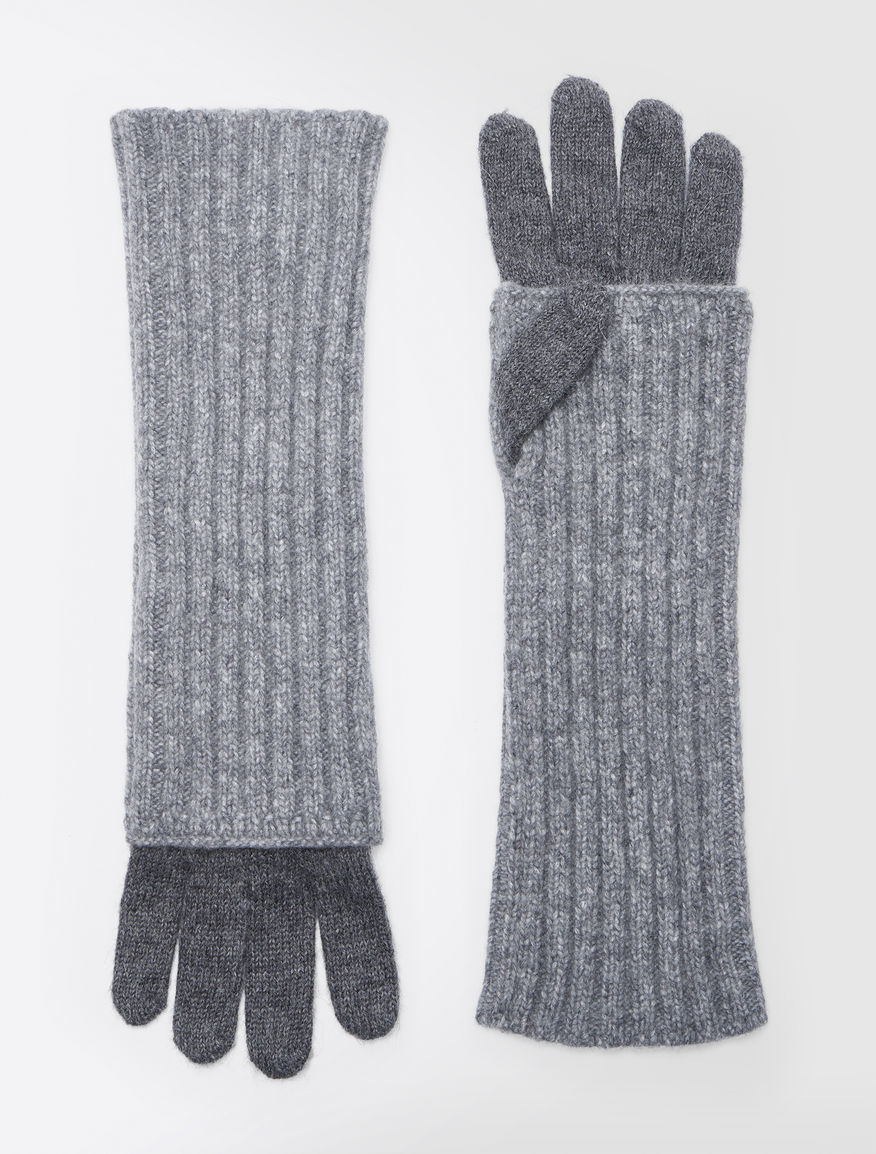 Alpaca and wool gloves Weekend Maxmara