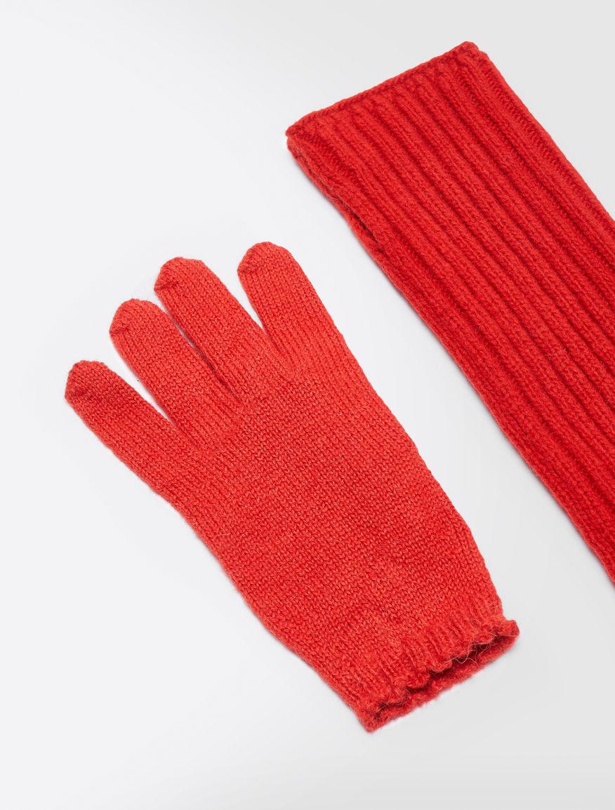 Alpaca and wool gloves Weekend Maxmara