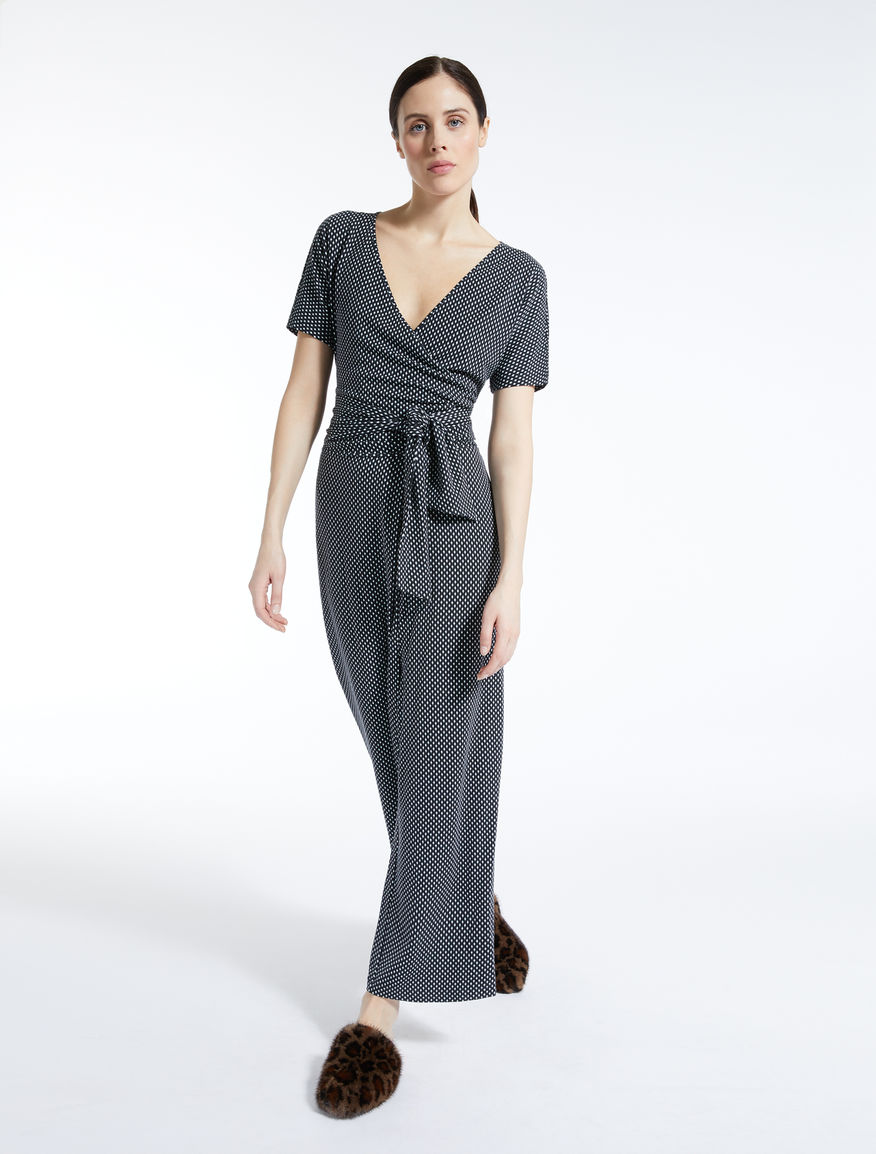 Viscose knit jumpsuit Weekend Maxmara