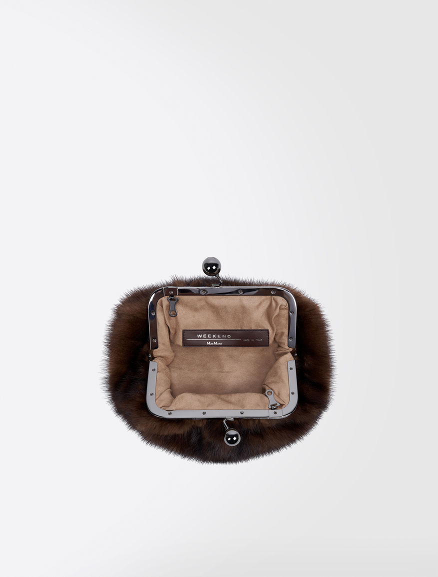 Pasticcino Bag Mini in visone Weekend Maxmara