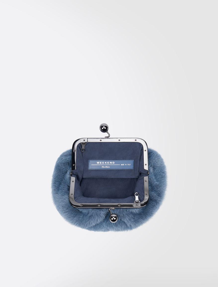 Pasticcino Bag Mini in visone Weekend Maxmara