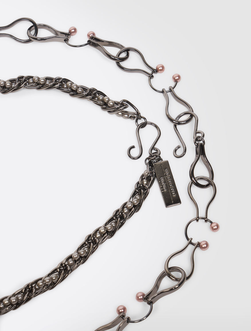 Set of two beaded necklaces Weekend Maxmara