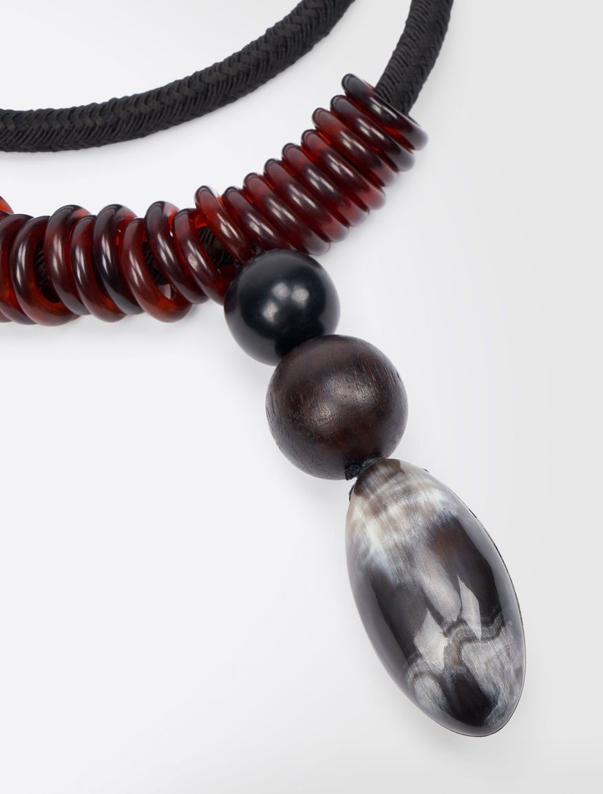 Necklace with horn pendant Weekend Maxmara