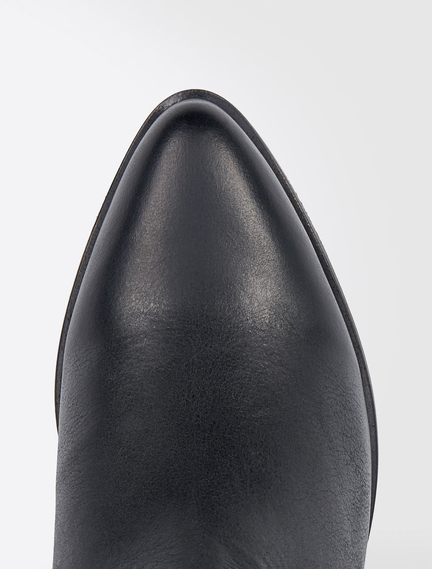 Leather Beatle boots Weekend Maxmara