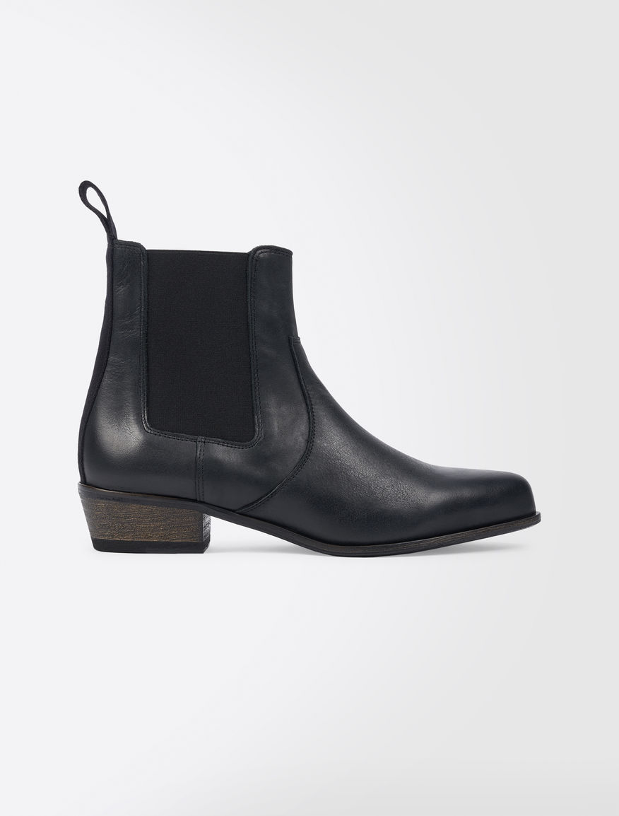 Leather Beatle boots Weekend Maxmara