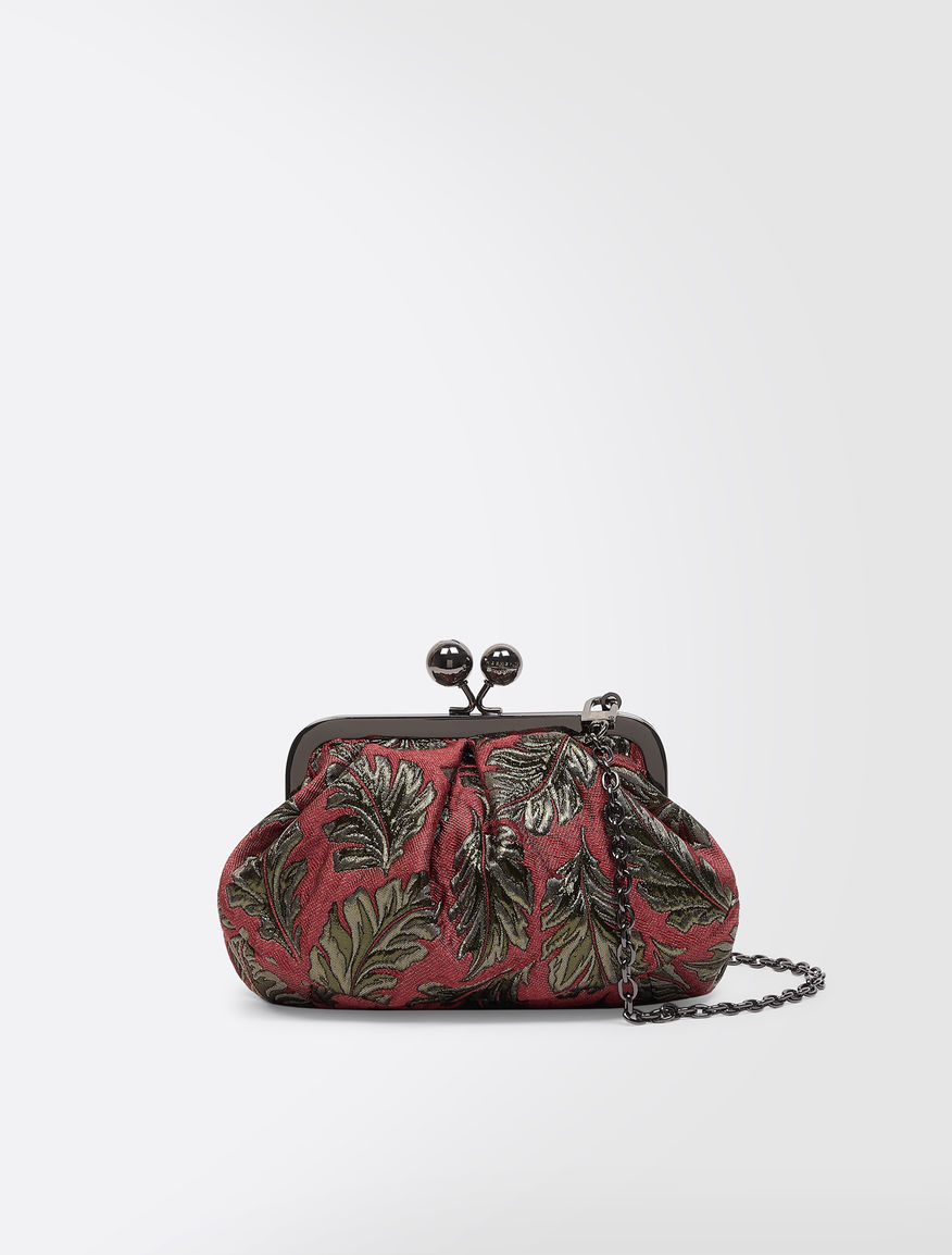 Mini Pasticcino Bag in jacquard fabric Weekend Maxmara