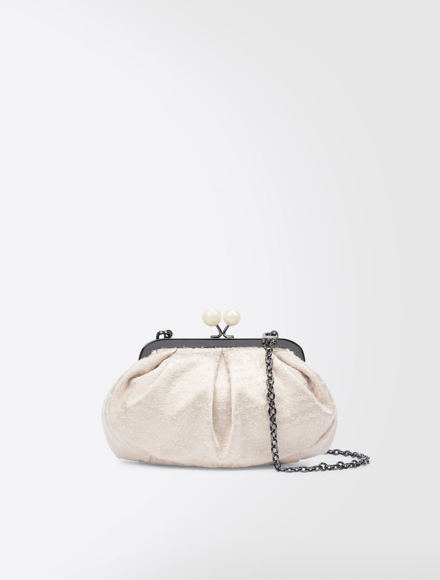 Mini Pasticcino Bag in silk satin Weekend Maxmara