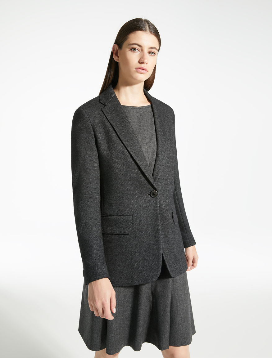 Blazer in jersey jacquard Weekend Maxmara