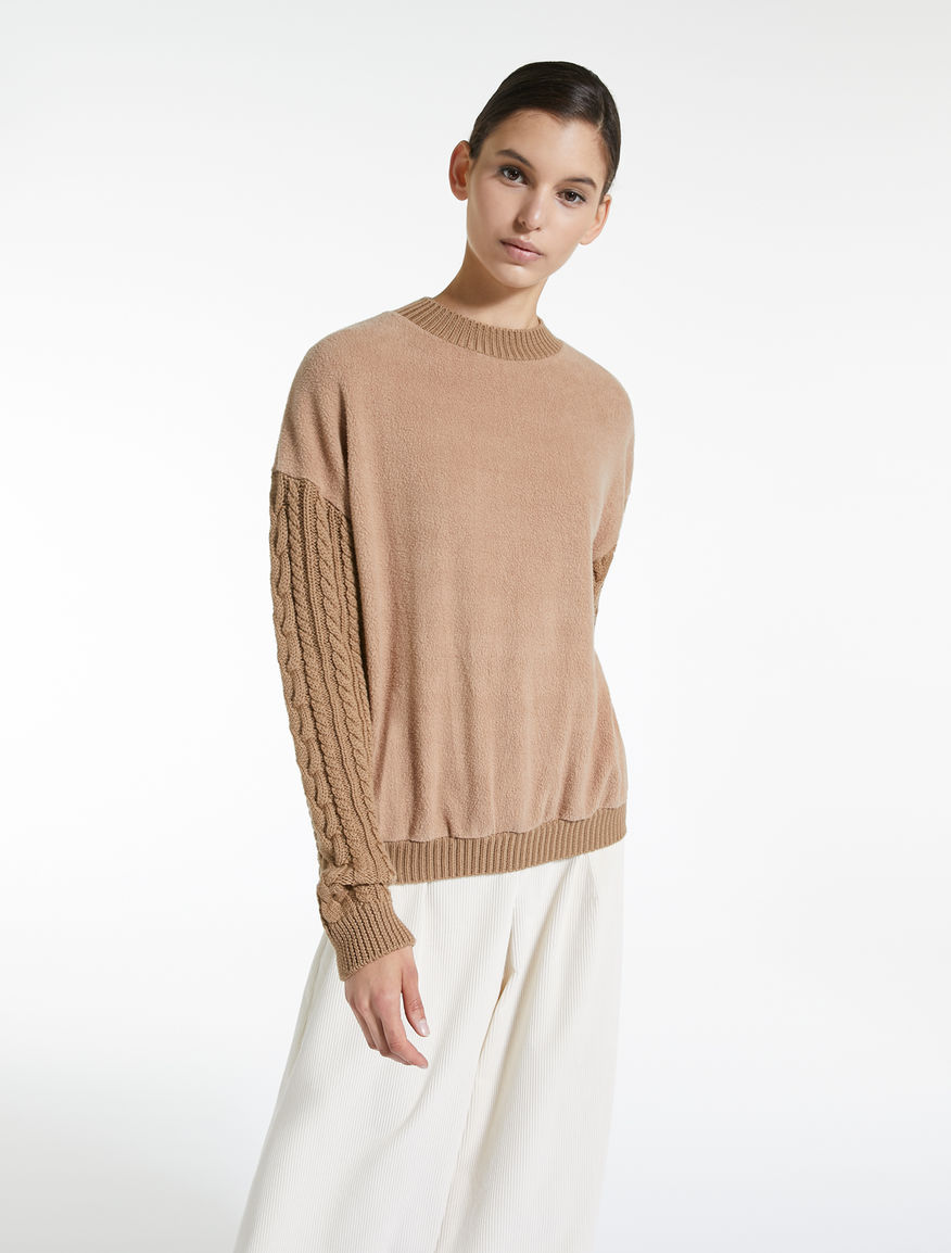 Cotton jersey jumper Weekend Maxmara