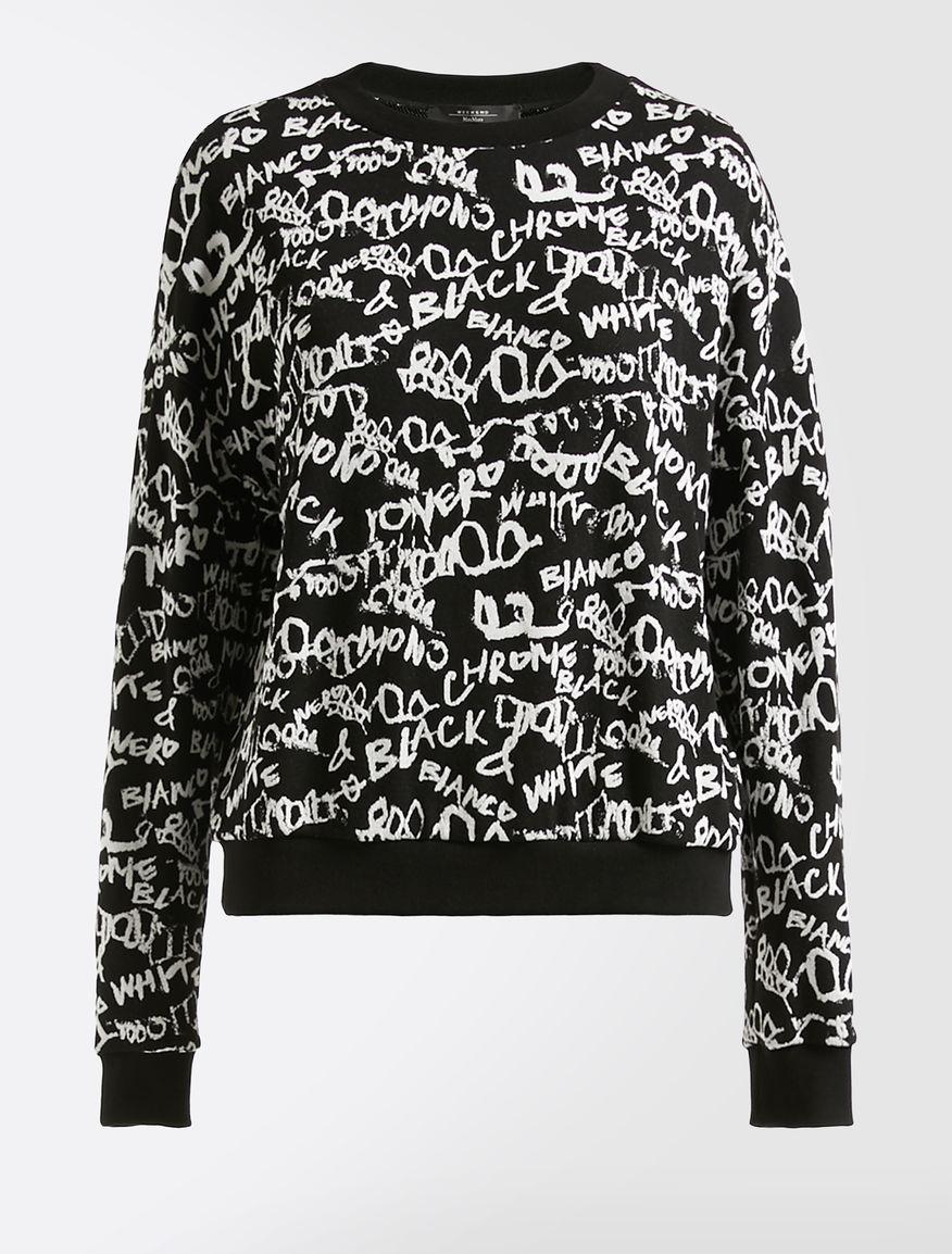Jacquard jersey sweatshirt Weekend Maxmara