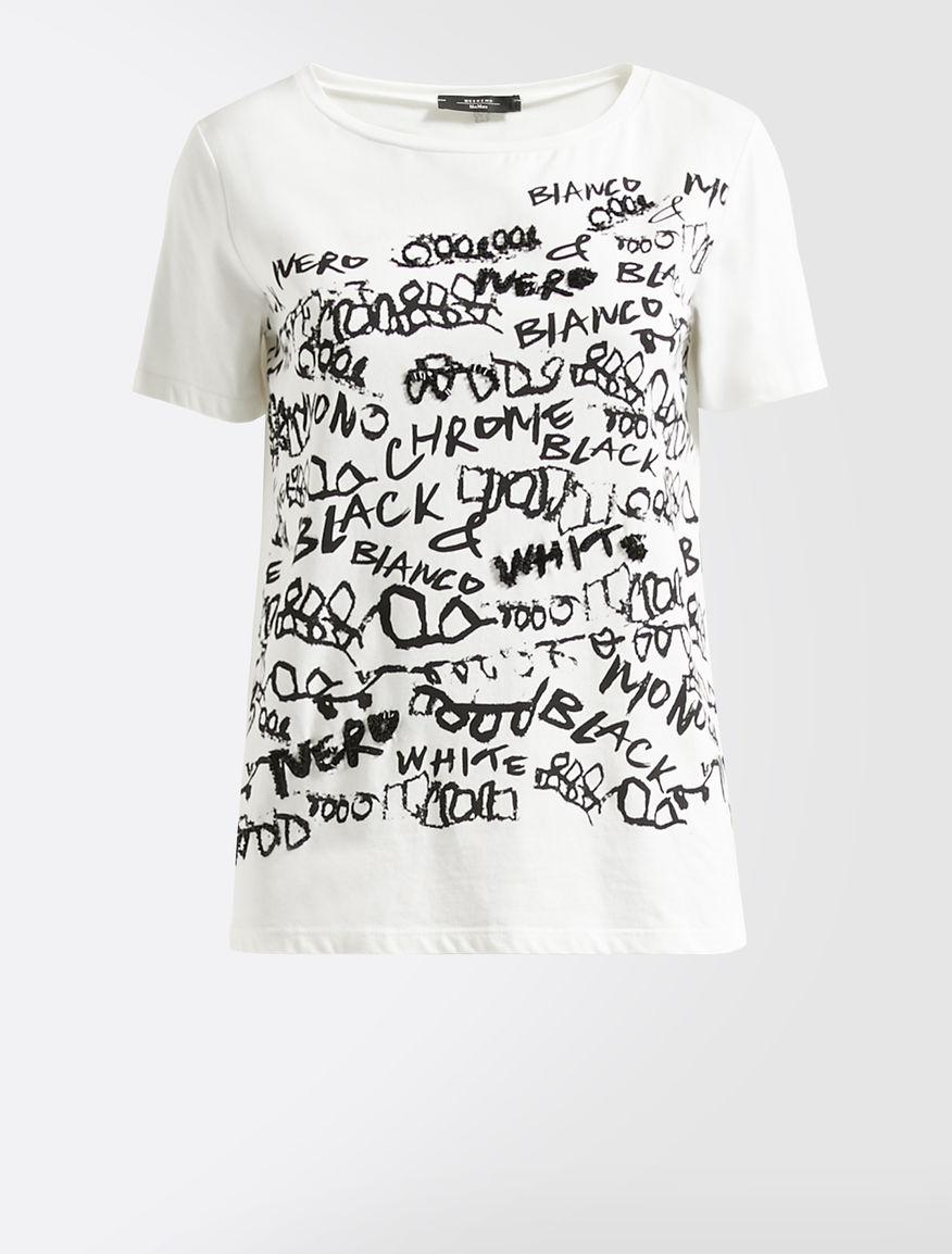 T-shirt in jersey di cotone Weekend Maxmara
