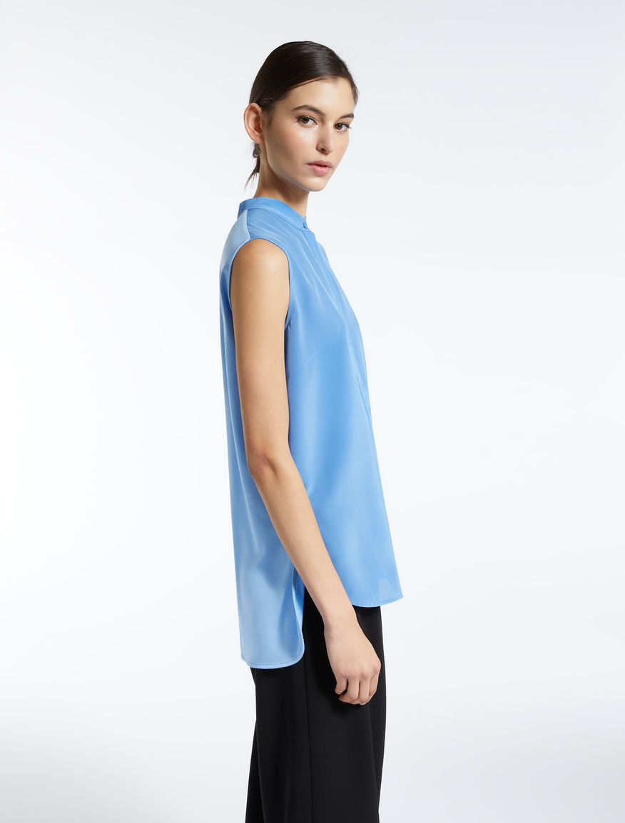Blusa in seta e jersey stretch Weekend Maxmara