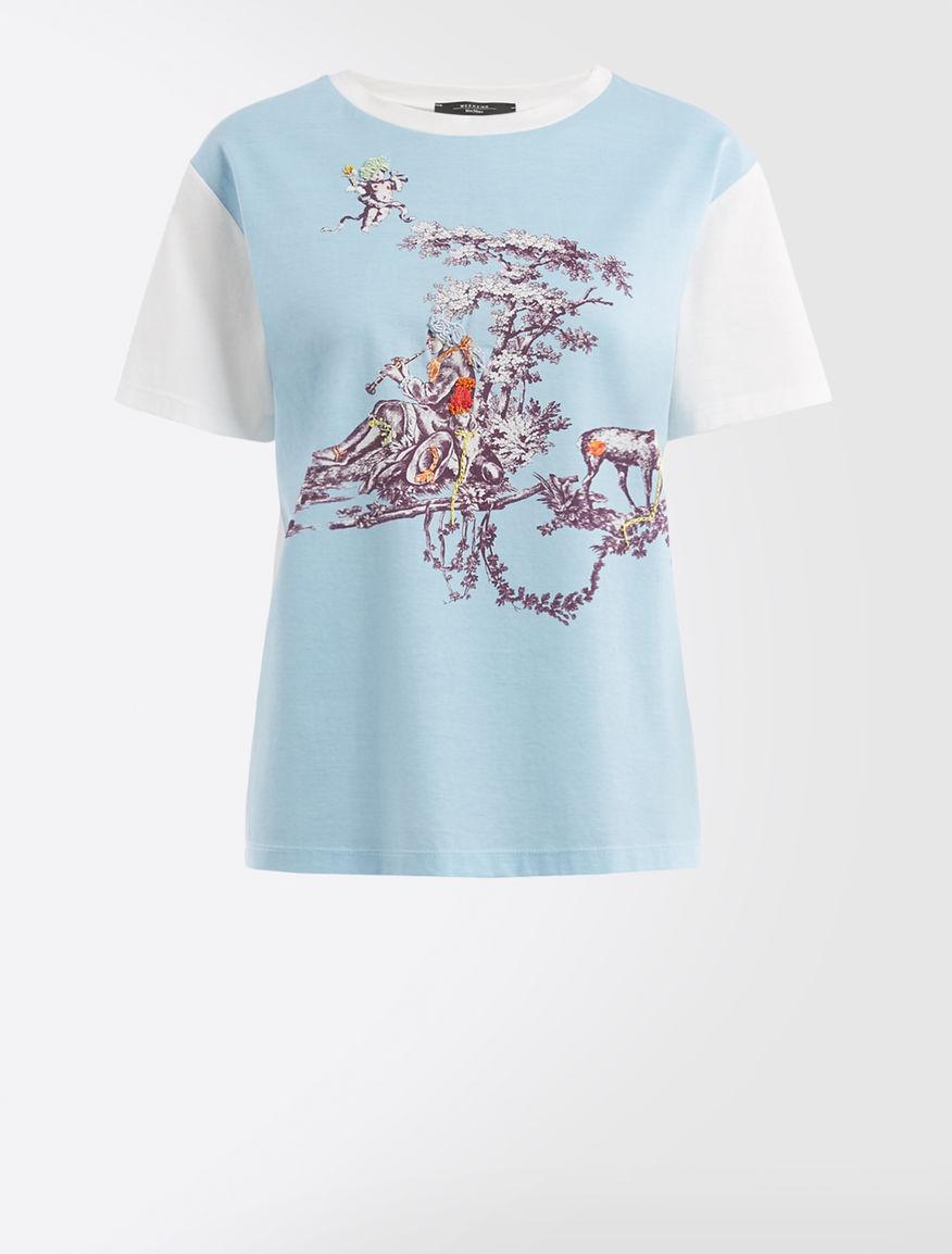 Trophy Day - T-shirt in jersey di cotone Weekend Maxmara