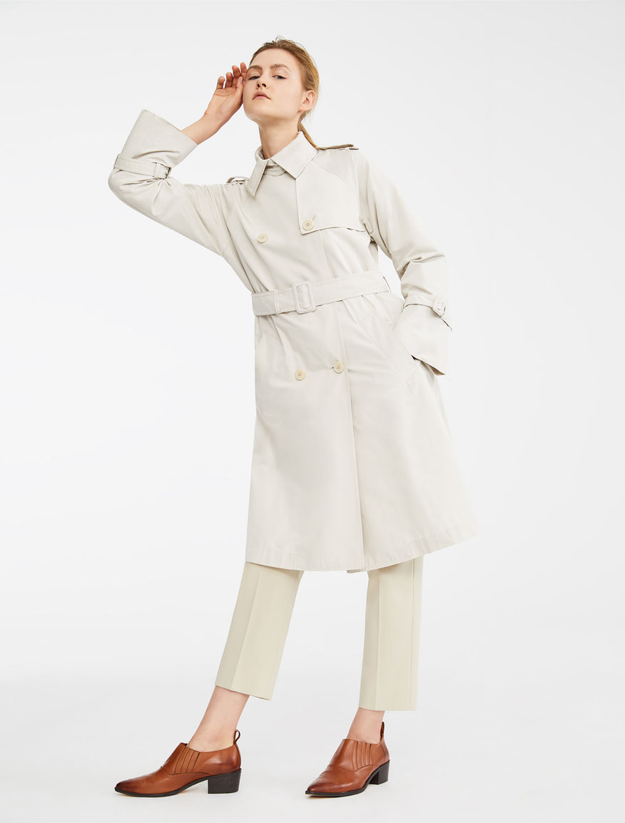 Water-repellent taffeta trench coat Weekend Maxmara