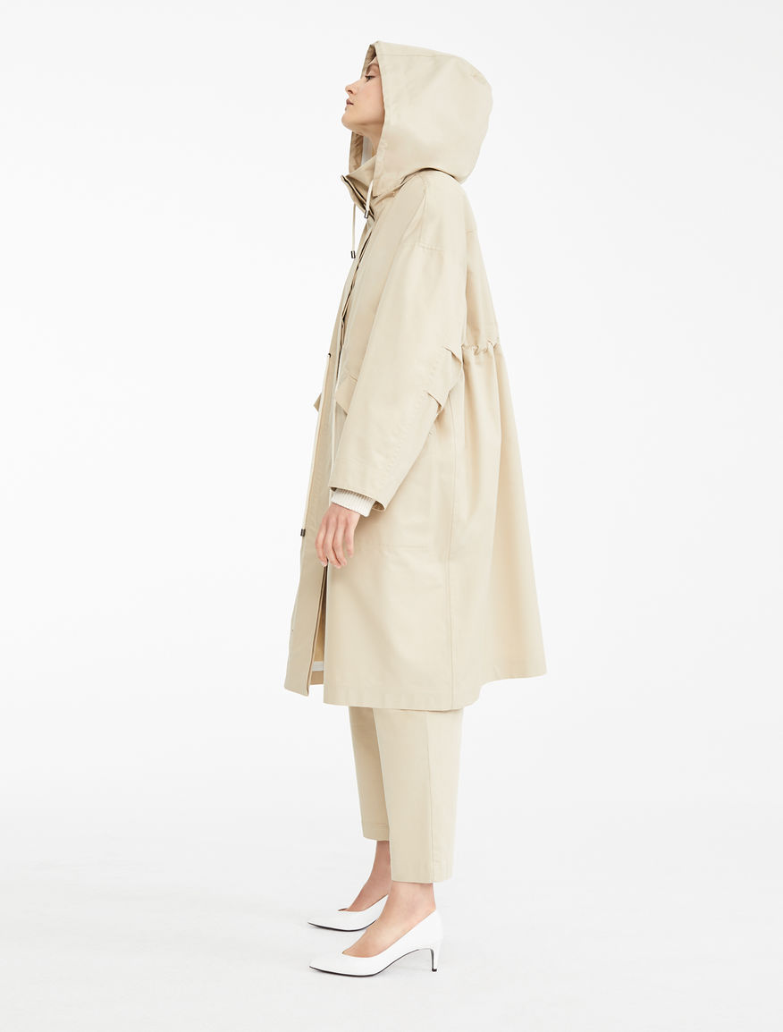 Water-repellent gabardine raincoat Weekend Maxmara