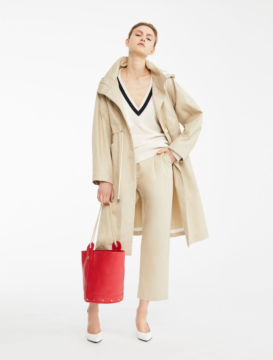 Impermeabile in gabardina antigoccia Weekend Maxmara