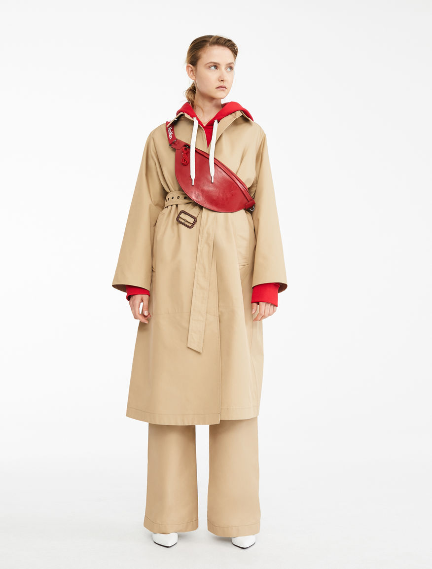 Water-repellent gabardine raincoat Weekend Maxmara