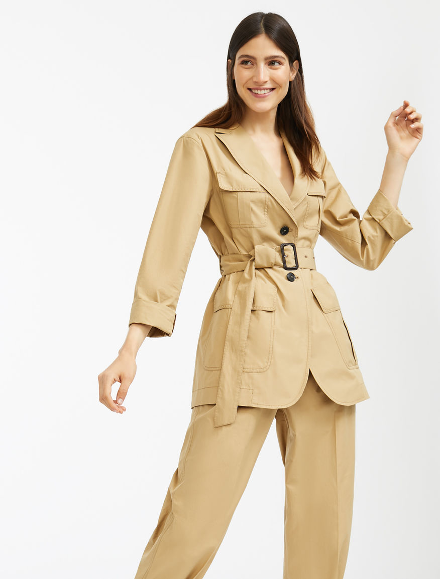 Cotton poplin jacket Weekend Maxmara
