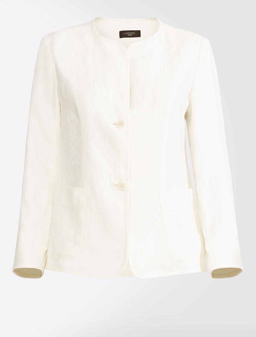 Linen canvas blazer Weekend Maxmara