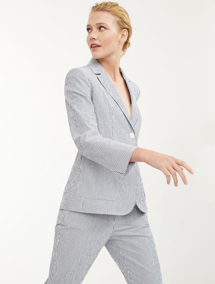 Stretch cotton blazer Weekend Maxmara