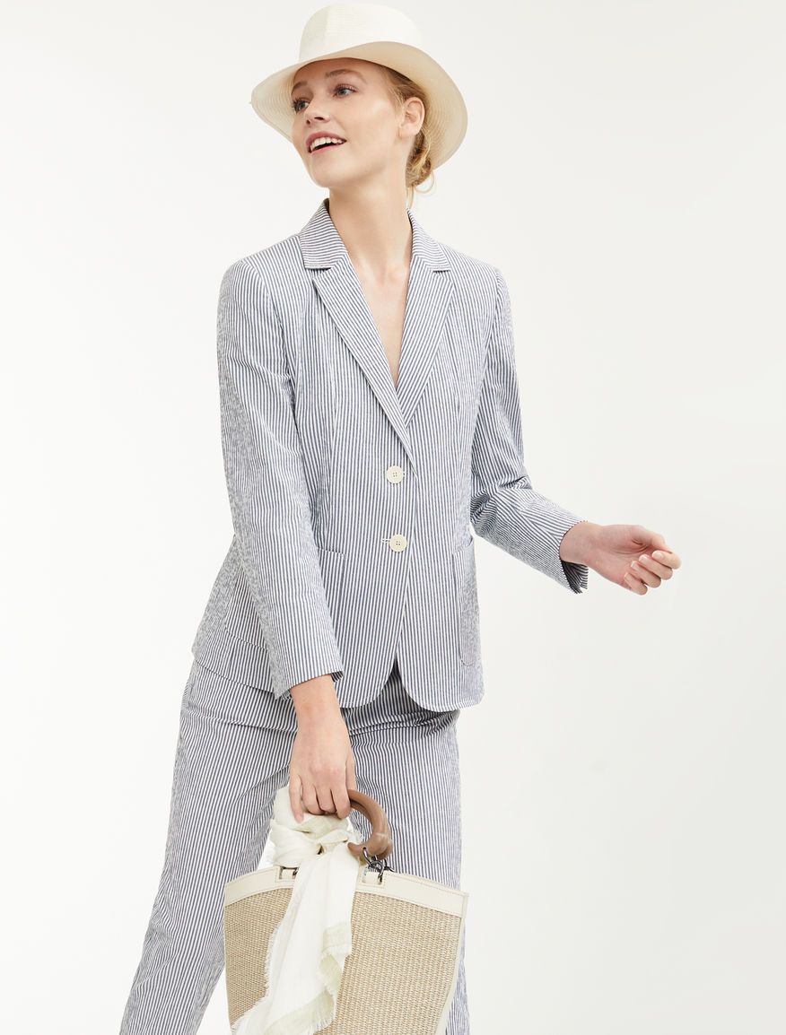 Stretch cotton blazer Weekend Maxmara