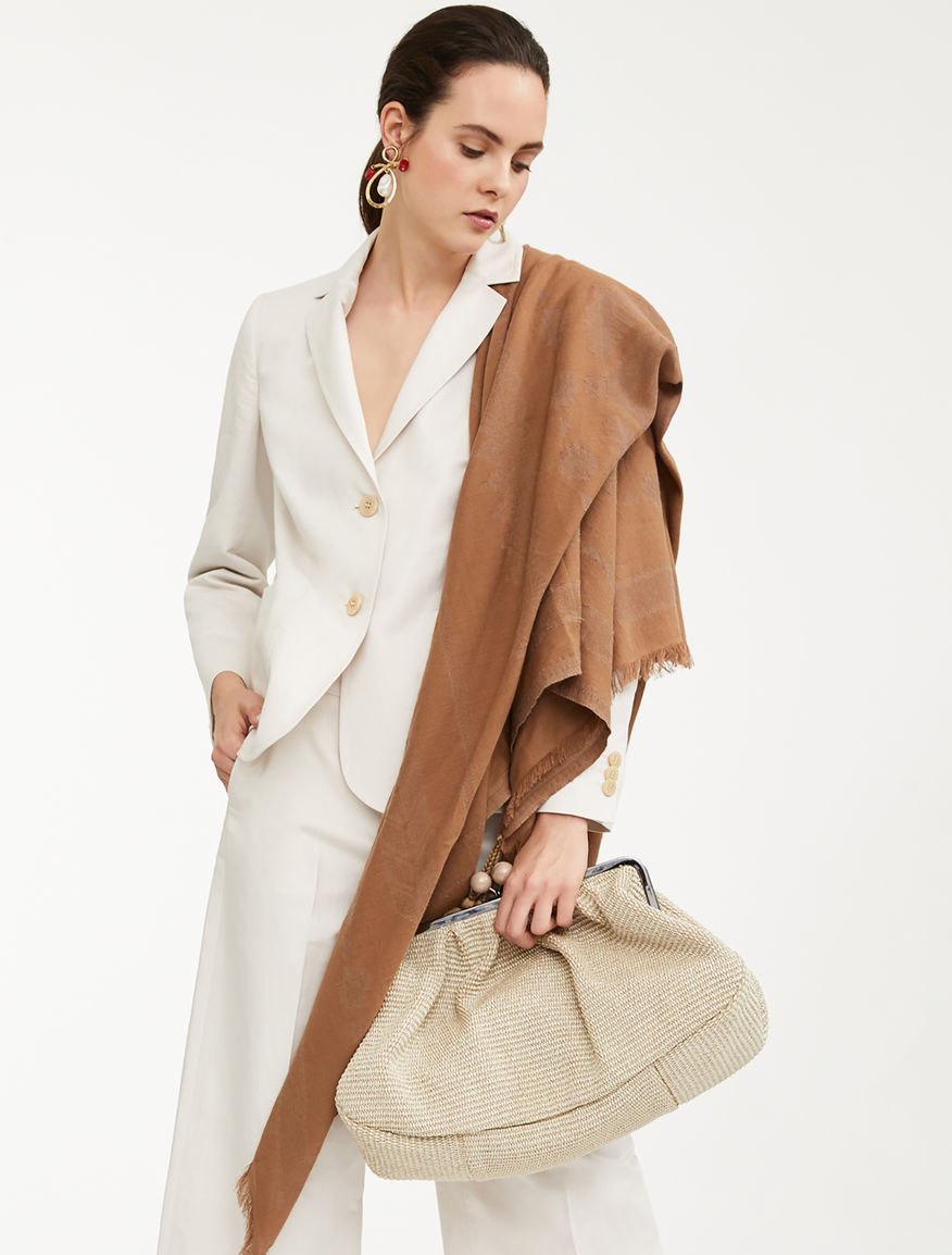 Blazer in cotone e lino Weekend Maxmara