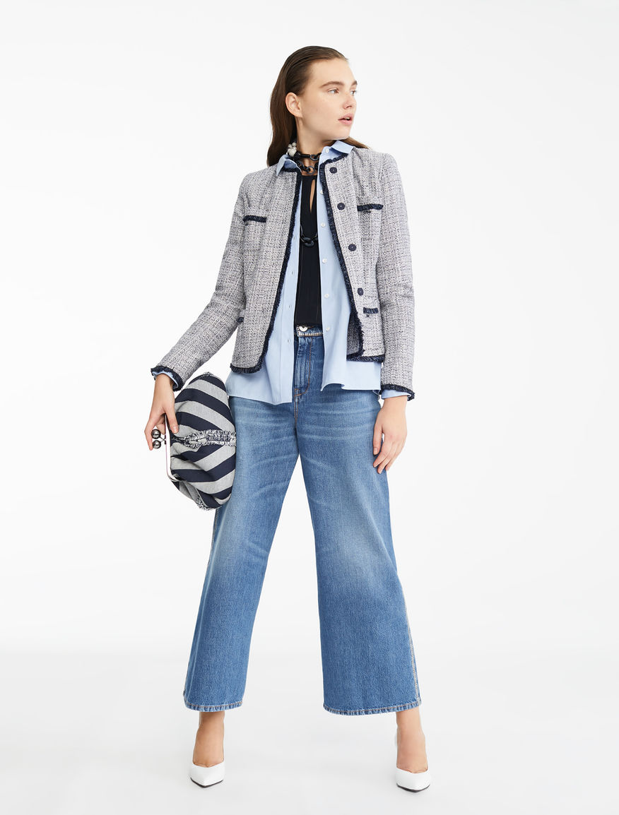 Cotton-blend jacket Weekend Maxmara